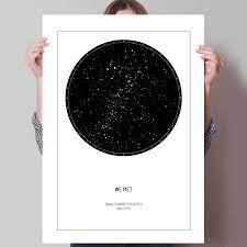 Star Chart Poster Custom