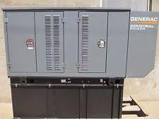50 kw generator new generac 50kva 40kw standby diesel generator 277 480v 3 phase 138ga fuel tank