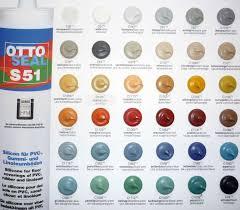 Otto Chemie Ottoseal S51 Silicone Sealant Colours