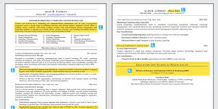 Business Resume Format Simple Here Is An Ideal Résumé For A Midlevel Employee Business Insider