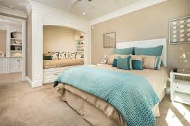 Superb Turquoise Bedroom Ideas With Blue Bedding And White