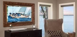 Framing A Tv Vanishing Entertainment Tv Mirror