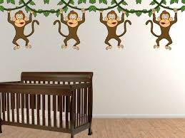 fancy no more monkeys jumping the bed wall art elaboration wall design of no more monkeys