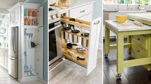 Small Picture 25 Small Kitchen Design Ideas Storage And Organization Hacks