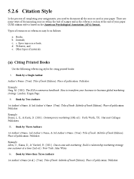 Apa Format Citation Books