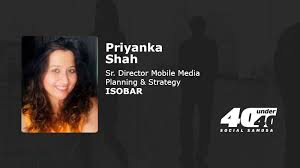 SS40Under40: Sky is the limit if you have fire in your belly: Priyanka Shah,  Isobar - Social Samosa