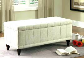 modern storage ottoman. Exotic Linen Storage Ottoman Modern Bench Amazing Awesome Furniture Superb Fabric Design Black