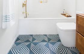 cropped emily henderson guest bathroom redesign reveal after photos tile mid century 273