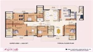 3 bhk floor plan with pooja room