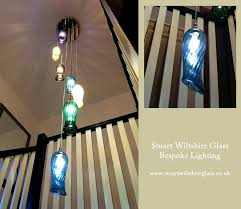 yes if you have had a chandelier or multi component ceiling or table light made by us we can make replacement handblown glass parts