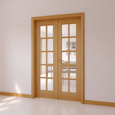 10 Lite Clear Glazed Internal French Door Set, (H)2030mm (W)770mm |  Departments | DIY at B&Q.
