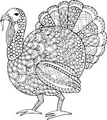 Coloring Page Turkey Free Turkey Coloring Page Turkey Coloring Pages
