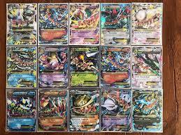 Pokemon MEGA, FULL ART, GX, BREAK, and EX (90+ cards) NM/M Condition
