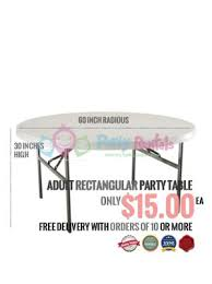 table rentals. 60-inch-party-table-rentals-san-diego-ca table rentals