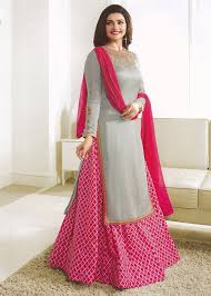 Prachi Desai Pink Kurti Style Lehenga Choli Express 1636lg03