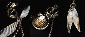 Freeman Design Golden Snitch Golden Snitch Harry Potter Inspired Pendant We Made