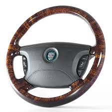 jaguar s type walnut steering wheel