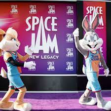 watching 'Space Jam: A New Legacy ...