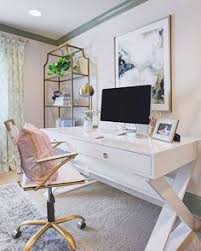 colorful feminine office furniture. Updated Her Home Office With Clean Lines And Muted Colors To Achieve  Ultimate Workplace Calm In The New Year. Shop Jett Desk Via Link Our Bio! Colorful Feminine Furniture U