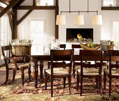 Clear Dining Room Table Old Farmhouse Dining Room Lighting Black Chrome Legged Wooden