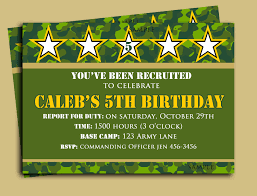 army birthday invitations in your birthday invitation cards birthday invitation cards invitation card design using extraordinary design 20