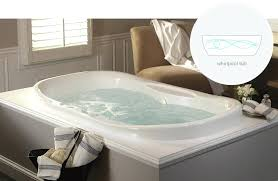drop in jacuzzi tub aquatic estate collection universal oval whirlpool 6 ft