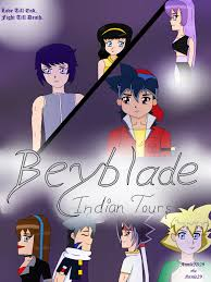 Beyblade Indian Tours: Chapter 3 - New Girl In The School, book by AnnieJD29