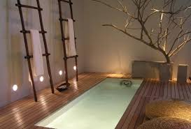 Modern bathroom design and simple decor in Japanese style