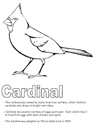 Small Picture Dogwood Cardinal Coloring PagesCardinalPrintable Coloring Pages