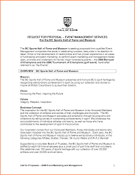 Sports Management Cover Letters 009 Event Proposal Cover Letter Example Bud Sample Cozy