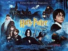 harry potter and the philosopher s stone a poster depicting a young boy with gles an old man with gles a