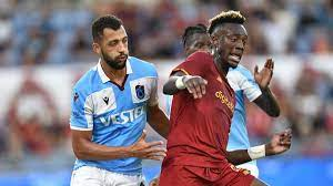 Maç sonucu: Roma 3-0 Trabzonspor