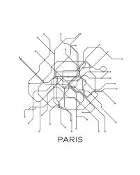 flat800x800070f.u1 paris subway map,black & white lines,vintage map retro,print paris on paris map printable