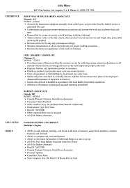 Bakery Clerk Job Description For Resume Bakery Associate Resume Samples Velvet Jobs 74