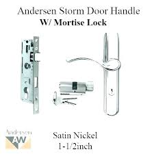 Pella Storm Door Replacement Parts Handle Screen Locks Self Storing