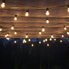 Outdoors: Captivating Outdoor Pergola Patio Bulb String Lights Ideas -  Patio Deck Lighting Ideas