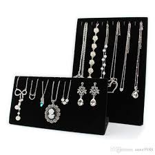 Bracelets Display Stands 100 Fashion Jewelry Display Stand Velvet Necklaces Display Stand 13