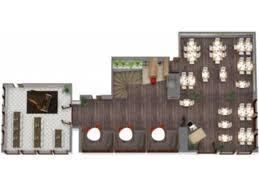 Restaurant Kitchen Floor Plan 3d Roomsketcher Restaurant Floor Plan
