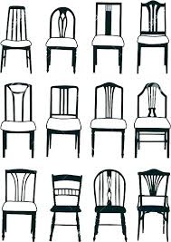 chair styles and names dining room types of furniture style chairs best french images on rocking antique