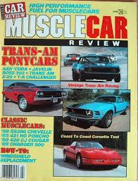 Muscle Car Review Magazines Auto Muscle Car