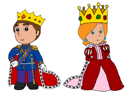 King And Queen Of Hearts Designs Queen And King Clipart