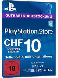 Playstation Chf Mmoga Card - Network Psn Buy Ch 10