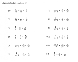 equations with fractions worksheets printables solving simple worksheet algebraic 6 tes doc simultaneous linear kuta pdf