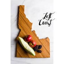 Kitchen Gift For Mom Idaho Cutting Board Personalized State Wedding Gift Home Men Chef