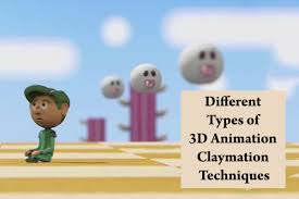 Different Types Of 3d Animation Claymation Techniques