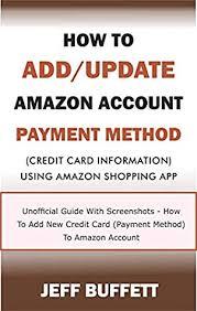 update amazon account payment method