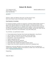 Direct Care Worker Cover Letter Cover Letter Support Worker Serpto Carpentersdaughter Co