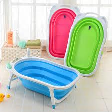 get ations folding baby bathtub newborn reclining folding send portable bath bath net bath tub children basin