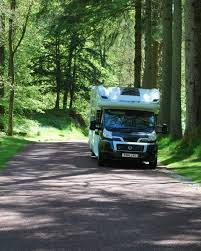 touring caravan site lake district