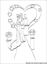 Disegno Di Cerimonia Del Matrimonio Da Colorare Disegni Da